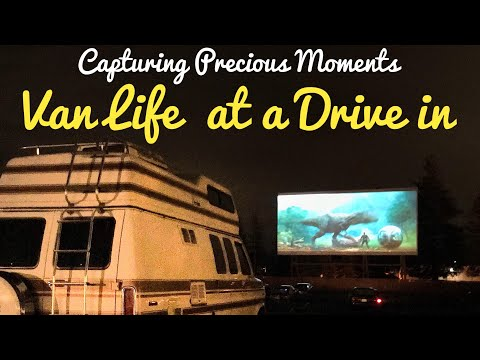 Van Life at The Drive in: Love and Laughter With Son