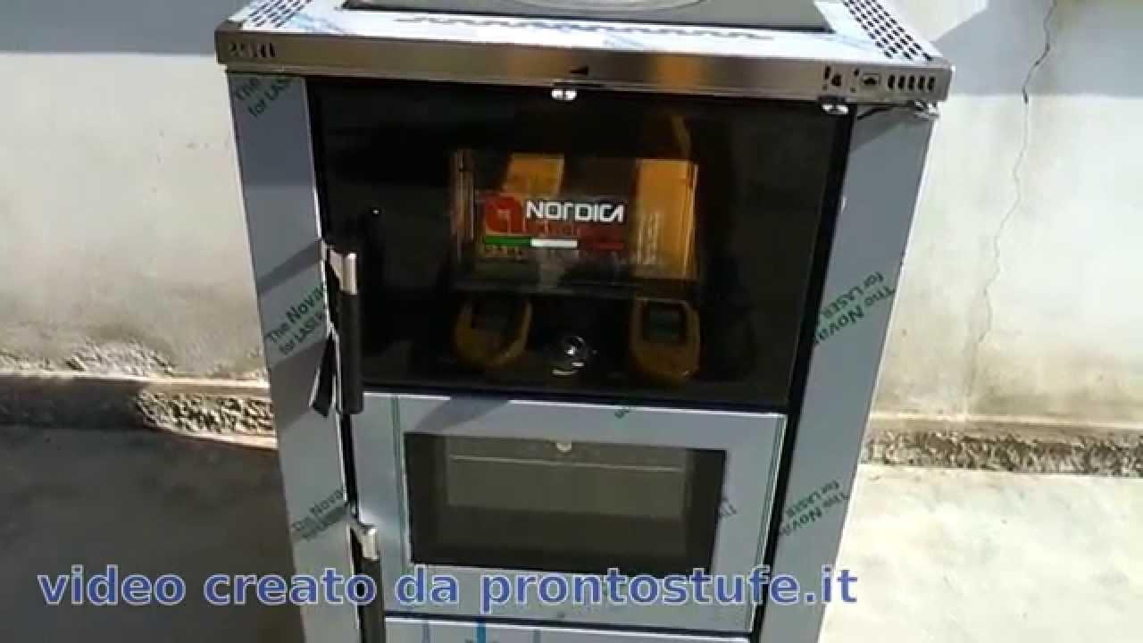 Vicenza cucina economica a legna da incasso La Nordica 60cm