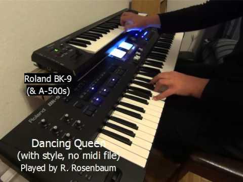 Dancing Queen (Abba) Roland BK-9 & A-500 mit Style (No MIDI File)