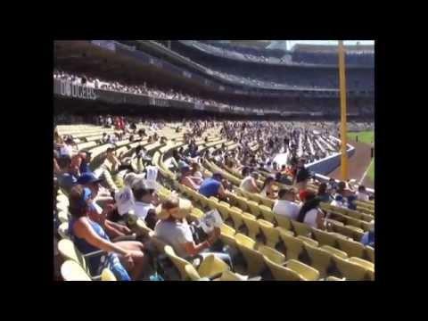 Cuban Heritage Day at Dodger Stadium 2014-08-17