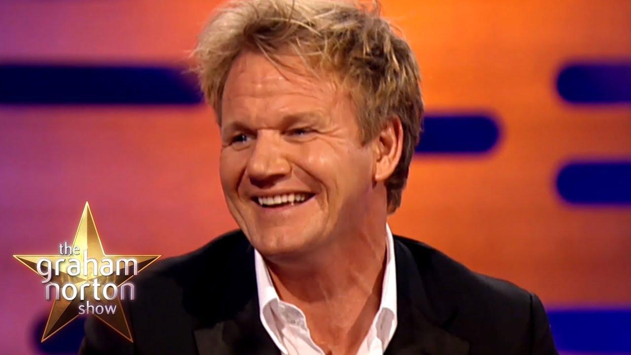 Gordon ramsay isn 39 t a fan of pubic hair the graham - Gordon ramsay shows ...