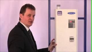 3 Настройка температури повітря в приміщенні електрокотла ZOTA Lux