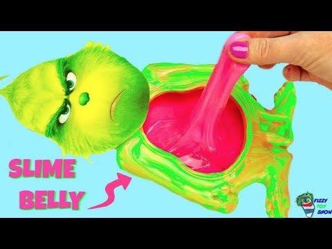 El Grinch tiene la pancita de Slime llena de muchos juguetes sorpresas