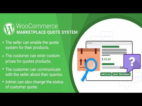 WordPress WooCommerce Marketplace Quote System Plugin | Codecanyon Scripts and Snippets thumbnail