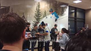 Michael Shannon signs autographs for TopPix