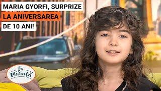 Maria Gyorfi implineste 10 ani, surprize din partea echipei La Maruta