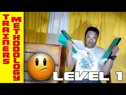 TESDA Trainers Methodology Level I|BAKIT di ako nakapasa? | This is what happens