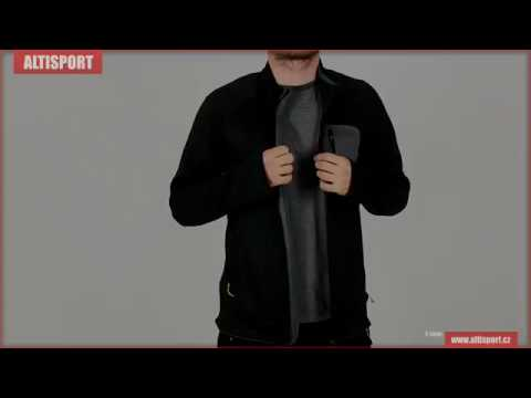 pánská sportovní mikina husky ahato m černá - YouTube 0441f69375