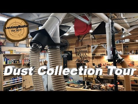 Tour of Woodworking Dust Collection System