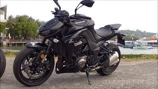 2014 Kawasaki Z1000 stock exhaust