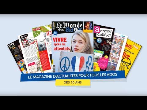 Magazine Le Monde des ados I Fleurus Presse