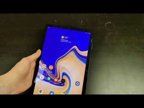 Galaxy Tab S4 Android Pie Update - YouTube