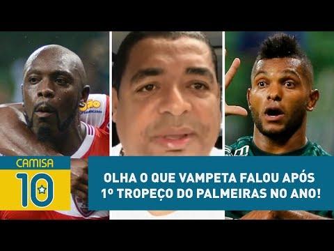 OLHA o que Vampeta falou após 1º tropeço do Palmeiras no ano!