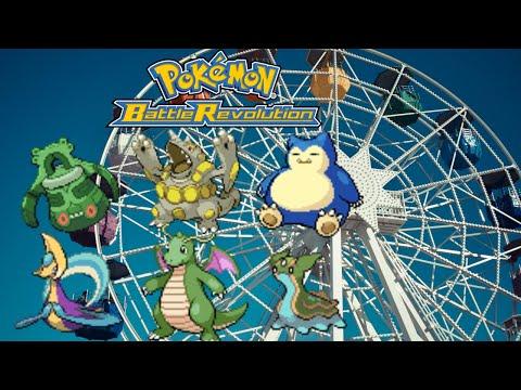 Pokemon Battle Revolution - Sunny Park Colosseum - Doubles Trick Room Team