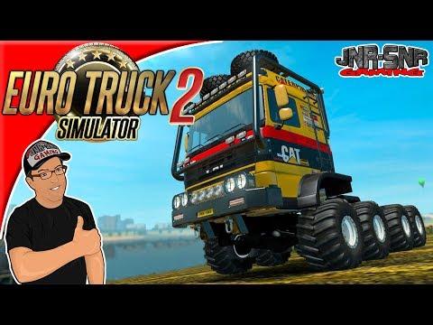 Euro Truck Simulator 2 DAF Crawler 1.27 Mod Review