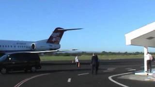 El Amanecer en el Aeropuerto Internacional Agusto C. Sandino.