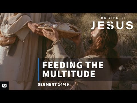 Feeding 5,000 | English | The Life Of Jesus | 14 Of 49
