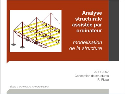 19- Modélisation d'une structure par ordinateur