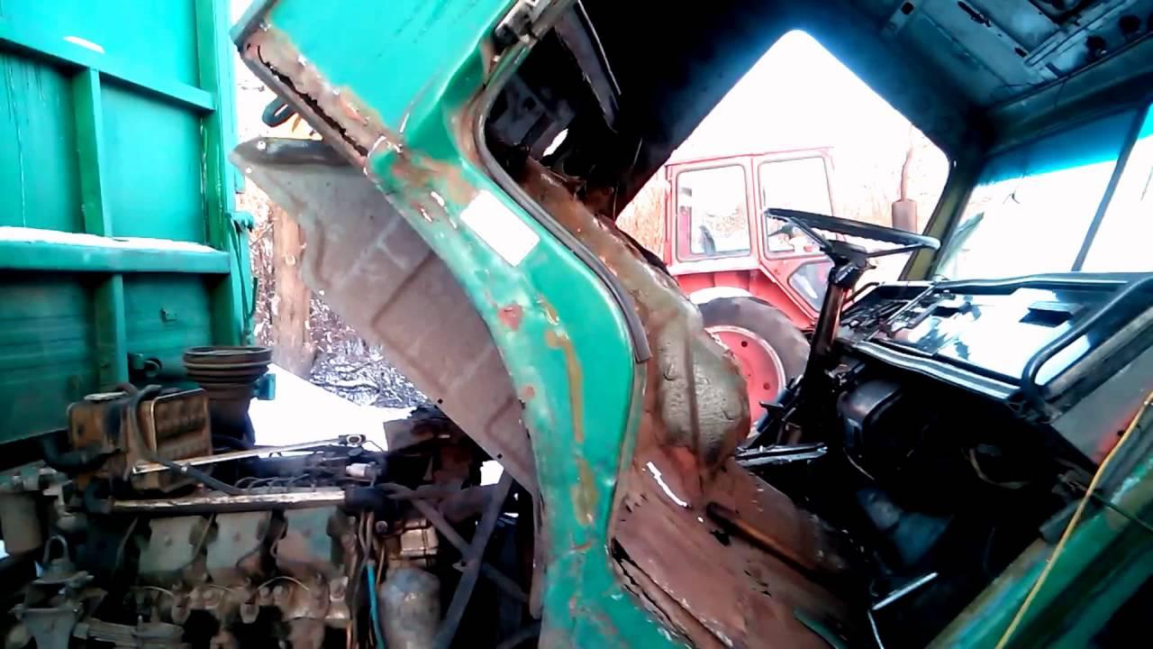 Камаз, ремонт кабины
