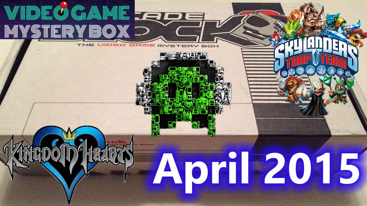 April 2015 Arcade Block Unboxing ! Shirt, Skylanders, Retro Gaming  Magazine, Gaming Music, and more