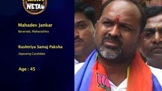 Mahadev Jankar Constituency: Baramati, Maharashtra Party: RSP Statu...