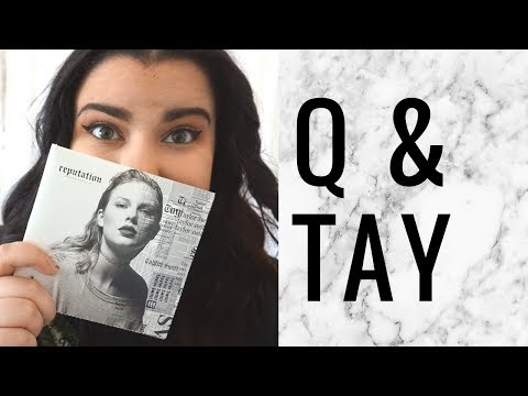 TAYLOR SWIFT Q&A: My Favorite Album, Song & More! | storiesinthedust