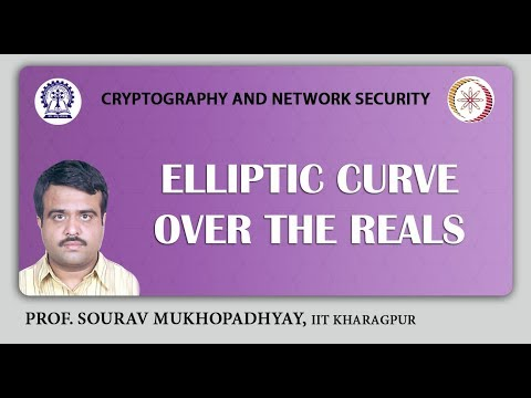 Elliptic Curve over the Reals