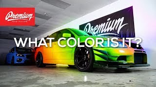 EVO 8 VINYL WRAP REVEAL: Dustin Williams