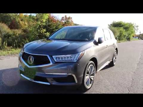 2017 Acura Mdx Sh Awd With Technology Package Youtube