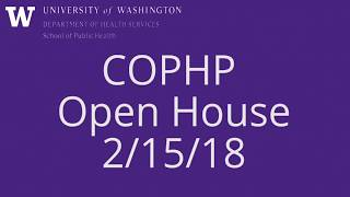 COPHP Open House 2-15-18