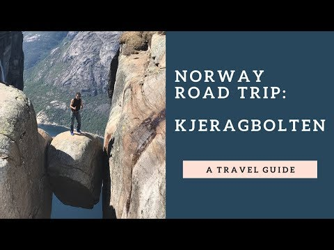 Norway - Road Trip - Kjeragbolten  - 4 days - 2017