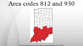 Area codes 812 and 930