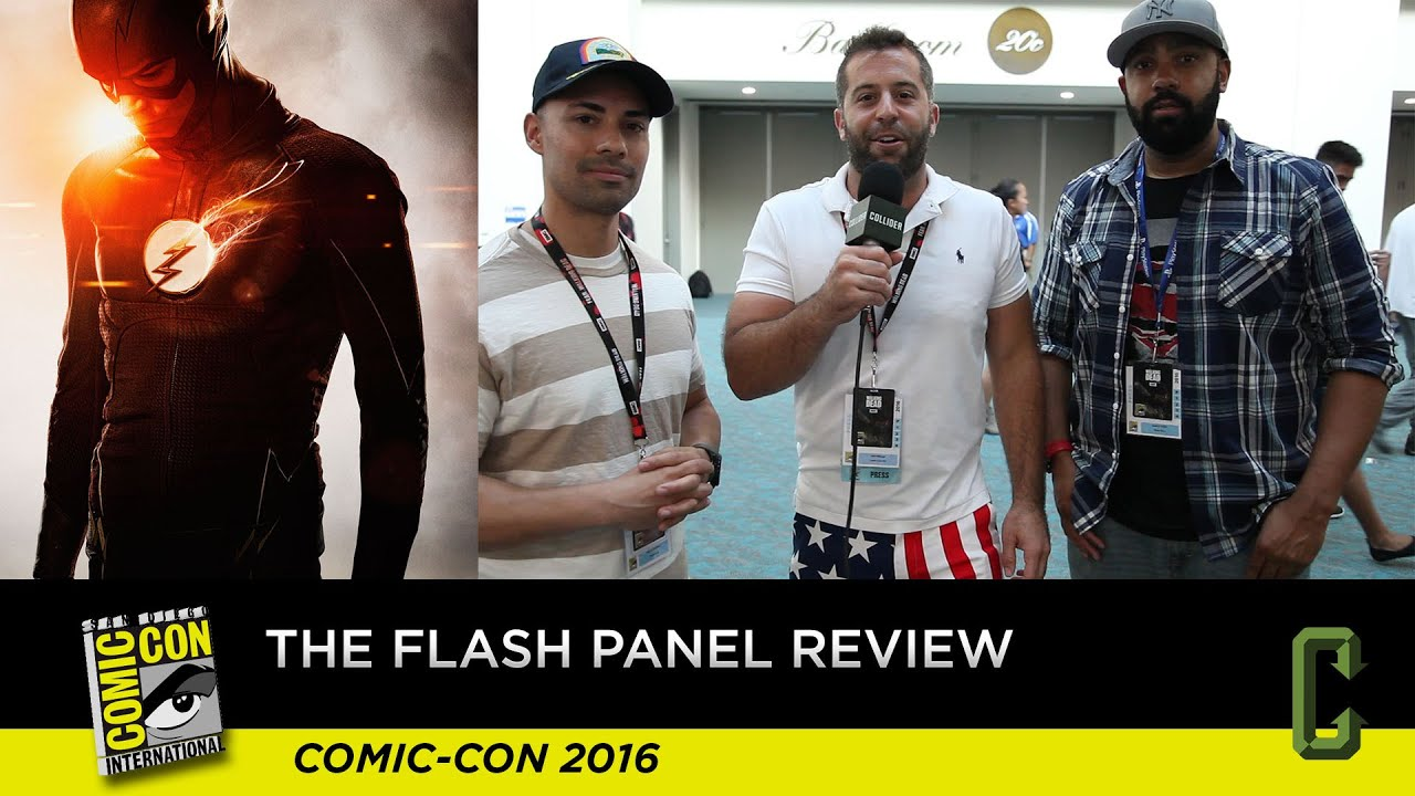 Download The Flash Panel and Footage Review - San Diego Comic-Con 2016