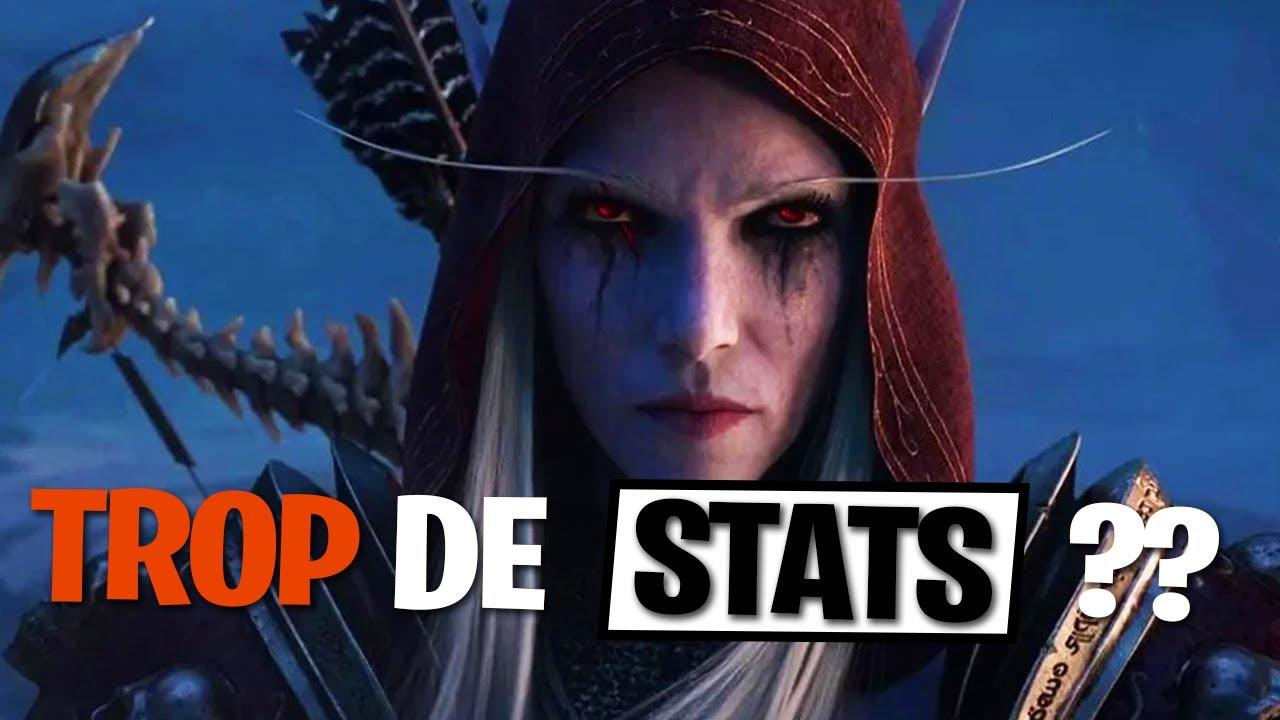 Pourquoi MAXER une stat ça ne sert à rien - Shadowlands World of Warcraft