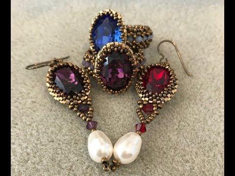 Bezel Your Bling Ring/Earrings