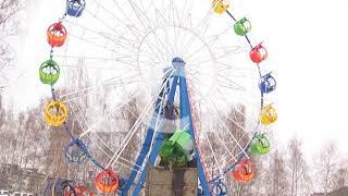 В Елабуге приступили к демонтажу аттракционов в парке «Чебурашка»