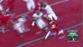 Eastern Washington's Vernon Adams Escapes Pressure To Throw Td Vs. Sac State