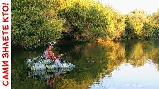 Сплав и рыбалка на новом плотике!