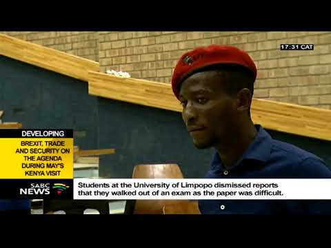 University of Limpopo students speak out on walking out during an exam