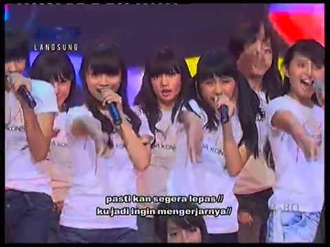 JKT48   Baby! Baby! Baby!+Lyric @ Mega Konser JKT48 RCTI 2012 07 17 High