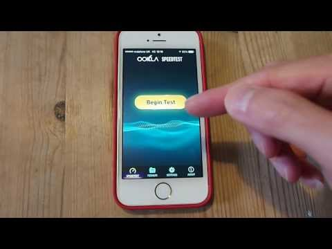 Vodafone UK 4G LTE Band 20 800Mhz Speed Test on iPhone 5s