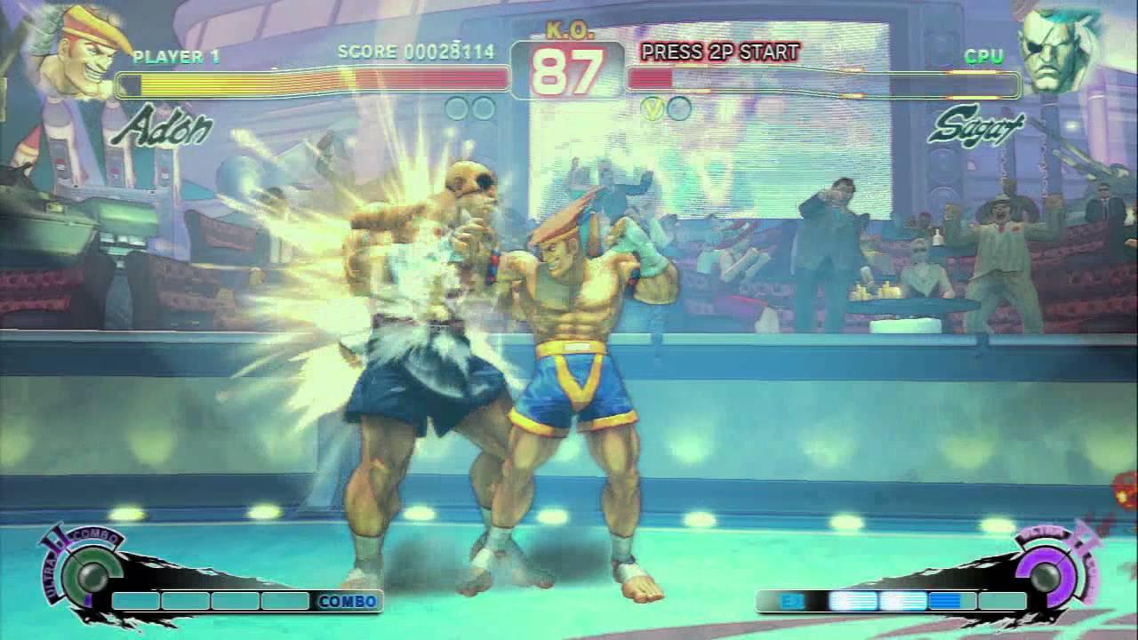 Download Ultra Street Fighter IV - Adon vs. Sagat (Rival Battle)