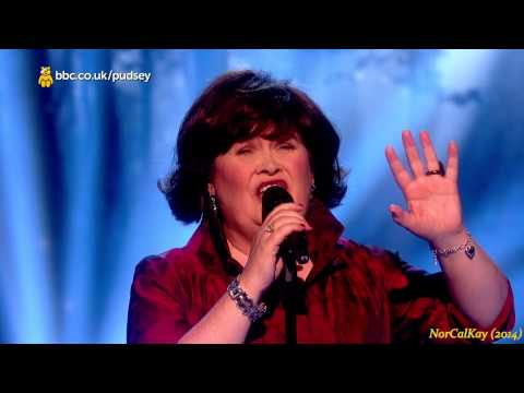"""Susan Boyle ~ BBC """"Children in Need"""" ~ sings """"Wish You Were Here"""" (14 Nov 14)"""