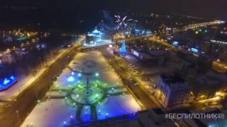 Липецк - первые минуты 2017 г.(1 января 2017 г. - съёмка первых 20 минут года., 2016-12-31T23:33:31.000Z)