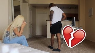 I CHEATED ON YOU PRANK ON BOYFRIEND! (HE BREAKS UP WITH ME!)