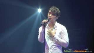 Repeat youtube video [FULL FANCAM] 120524 2PM LIVE 2012 'Six Beautiful Days' - Forget me not (Chansung solo)
