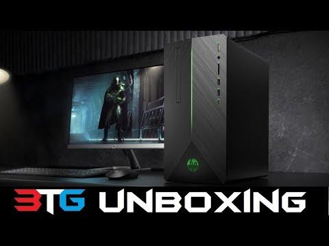 HP Pavilion Gaming Desktop PC Unboxing