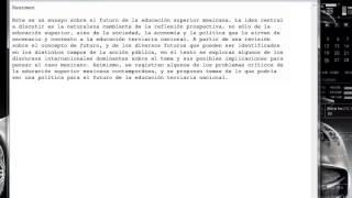 Screencast - Copiar y pegar texto en el editor HTML de Moodle (PCM)