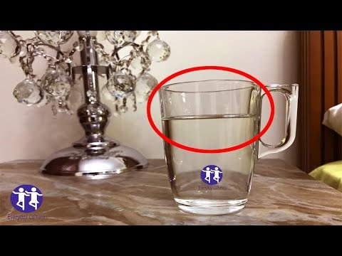 Don't Ignore This! Never leave a glass of water near your bed while sleeping, here's why?