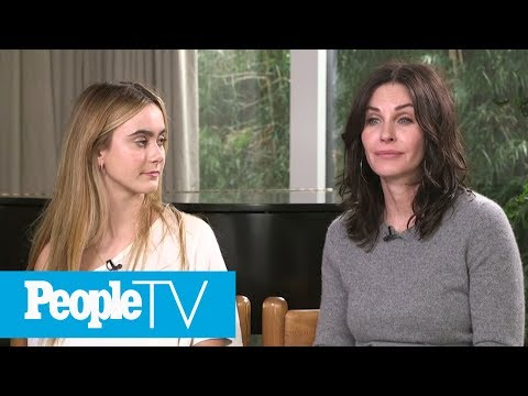 Courteney Cox Opens Up About Raising Daughter Coco, How They're Surviving The Teen Years  PeopleTV